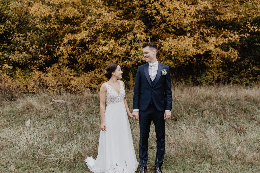 Herbstshooting Hochzeit
