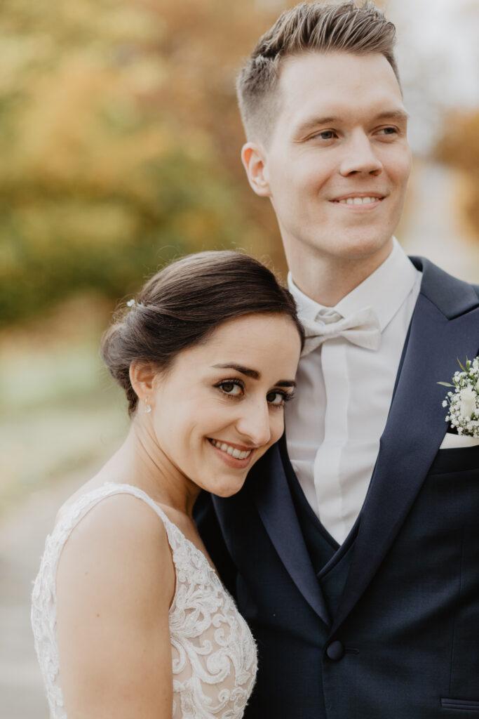 Portraits Braut und Bräutigam